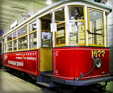 Музей трамваев и троллейбусов в Санкт-Петербурге. Петербургский трамвай. Праздник в трамвае